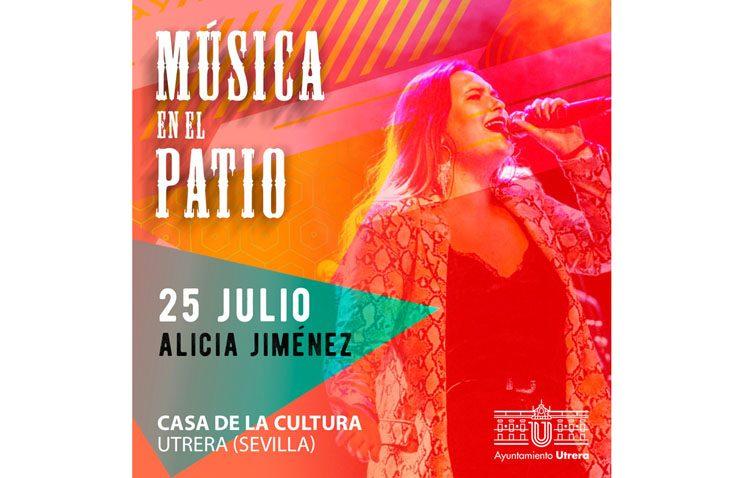 Concierto de Alicia Jiménez en la Casa de la Cultura