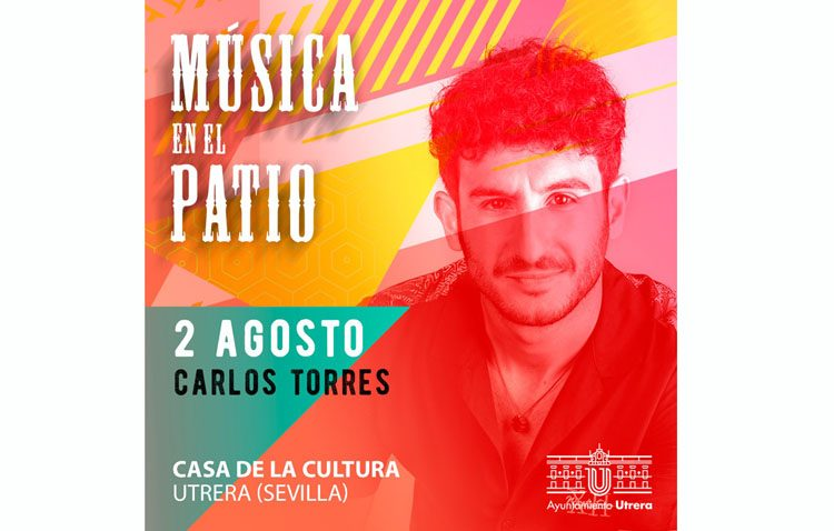 Concierto de Carlos Torres en la Casa de la Cultura de Utrera