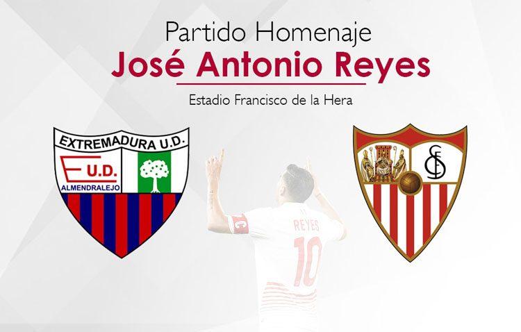El Extremadura y el Sevilla FC se unen para homenajear al futbolista utrerano José Antonio Reyes