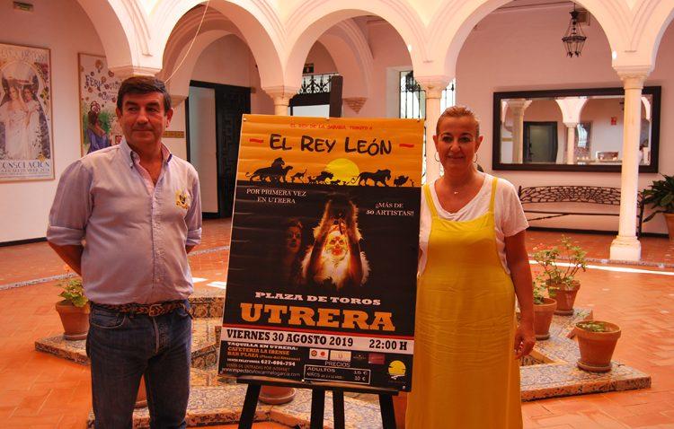 El 30 de agosto llega a Utrera «El Rey de la Sabana, tributo al Rey León»
