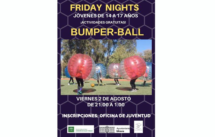 Una noche de «bumper-ball» en Utrera como alternativa a la botellona y las cachimbas