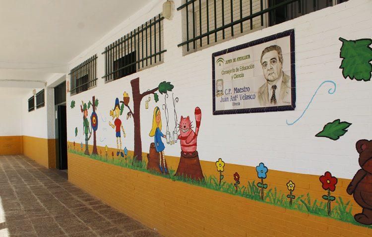 El colegio utrerano Juan Antonio Velasco estrenará aula matinal en el próximo curso