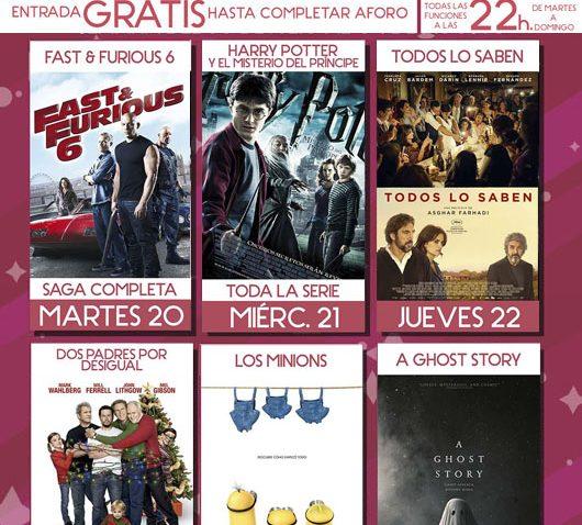 Suspense, humor, drama, acción y animación para la quinta semana de proyecciones en el cine de verano de Utrera