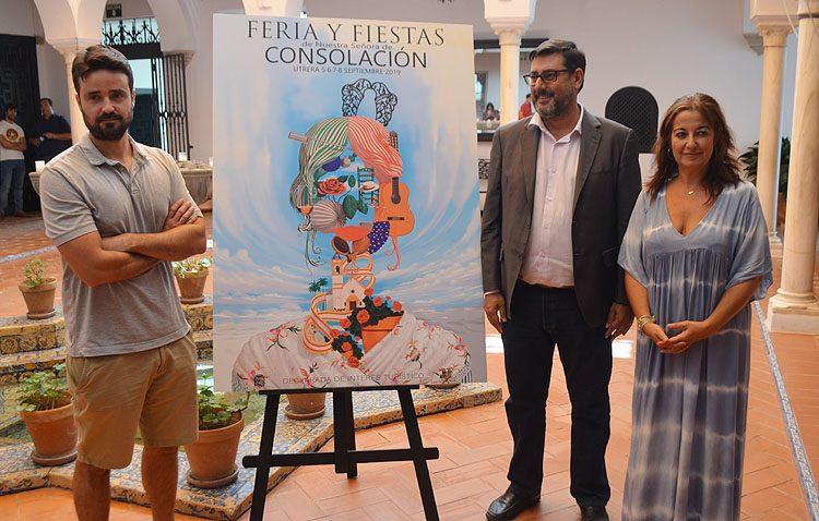 Utrera presenta el cartel de una Feria de Consolación que este año comenzará dos horas antes de lo tradicional