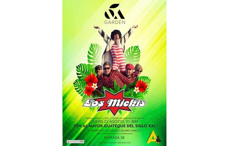 Los Mickis, protagonistas de un concierto a beneficio del pequeño Álvaro García