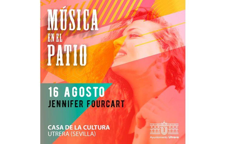 «Música en el patio» de la Casa de la Cultura con Jennifer Fourcart