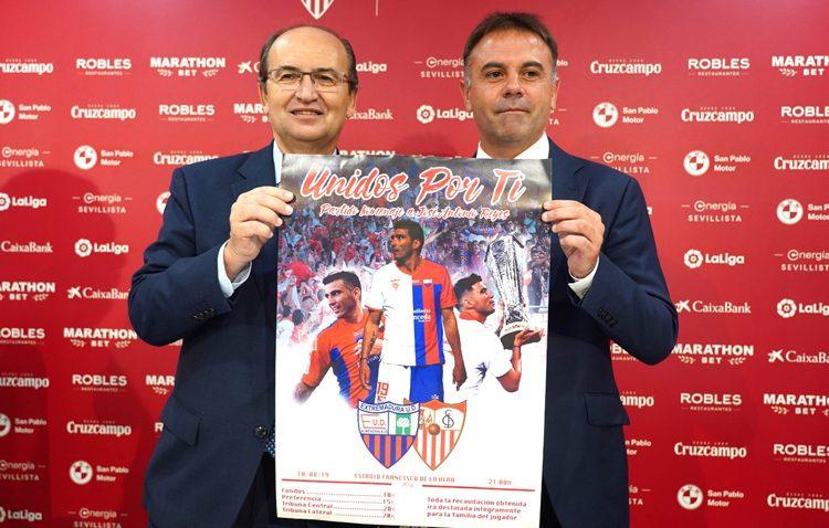 Sevilla y Extremadura presentan el cartel del partido homenaje a José Antonio Reyes