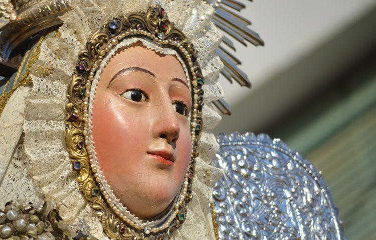 Utrera celebra unos cultos muy especiales en honor a la Virgen de la Mesa