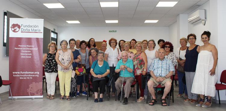 Más de 250 participantes en los talleres de envejecimiento activo del programa «Verano sano» en Utrera