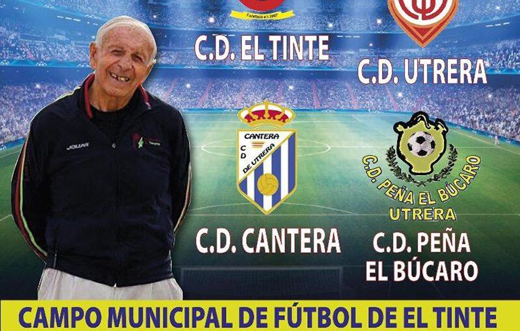 Cuatro equipos utreranos disputan el torneo de fútbol «Juan Márquez»