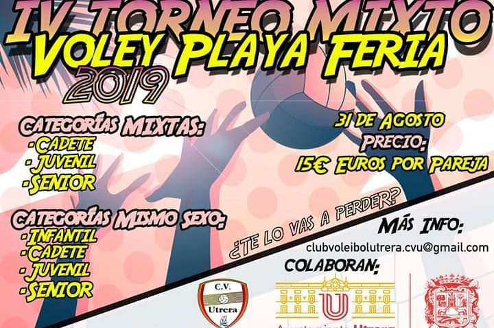 Torneo mixto de voley playa en Vistalegre