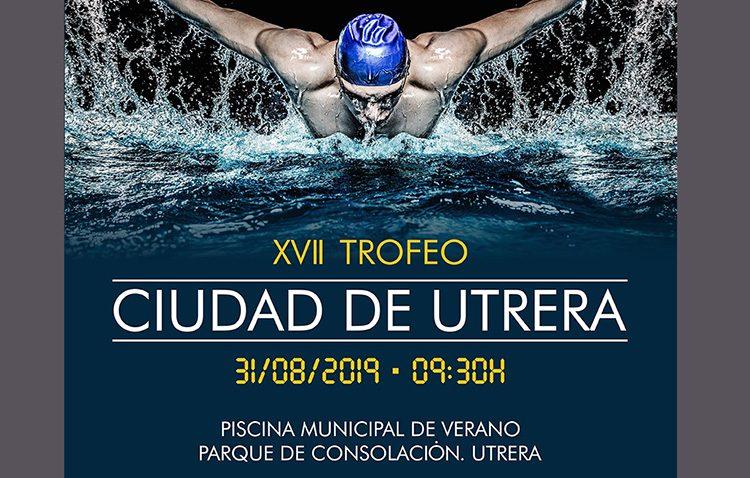 El trofeo de natación de Utrera regresa un año más a la piscina de Consolación