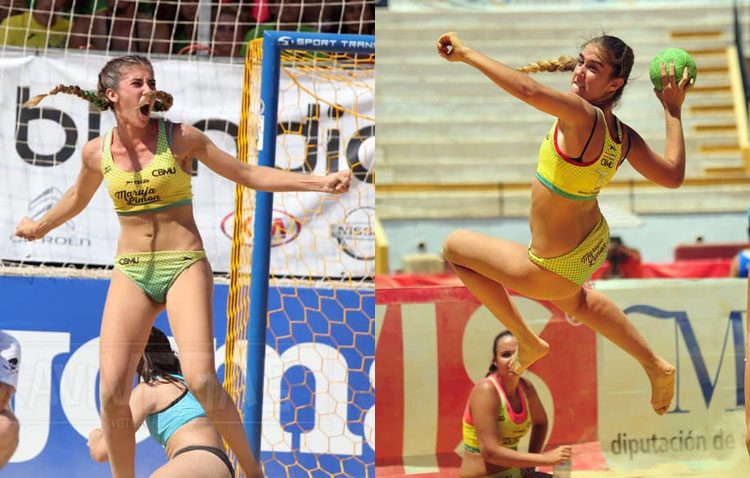 Las utreranas Alba y Andrea Toro formarán parte de la selección española de balonmano playa en los Juegos Mundiales de Arena en Qatar