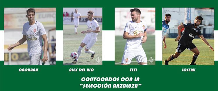 Cuatro jugadores del CD Utrera, convocados con la selección andaluza