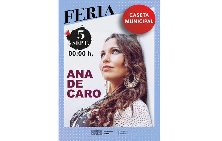 Las sevillanas de Ana de Caro, protagonistas este jueves en la caseta municipal