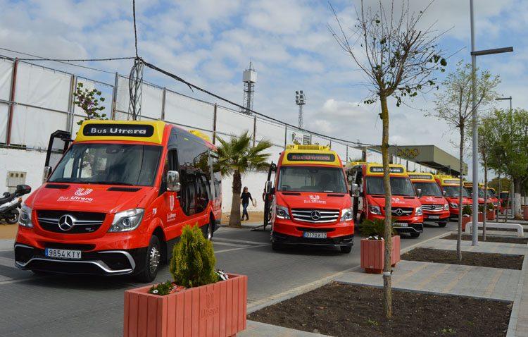El nuevo autobús urbano de Utrera ronda ya los 150.000 viajeros