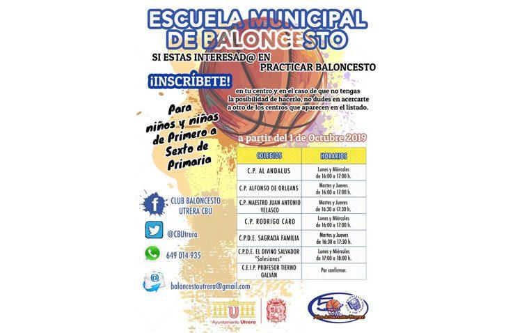 Las escuelas municipales de baloncesto abren su nuevo curso