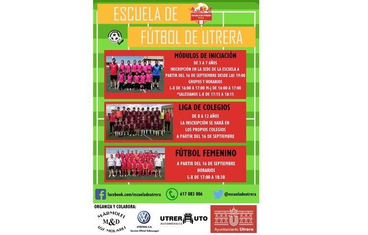 La Escuela Municipal de Fútbol presenta el programa para el nuevo curso