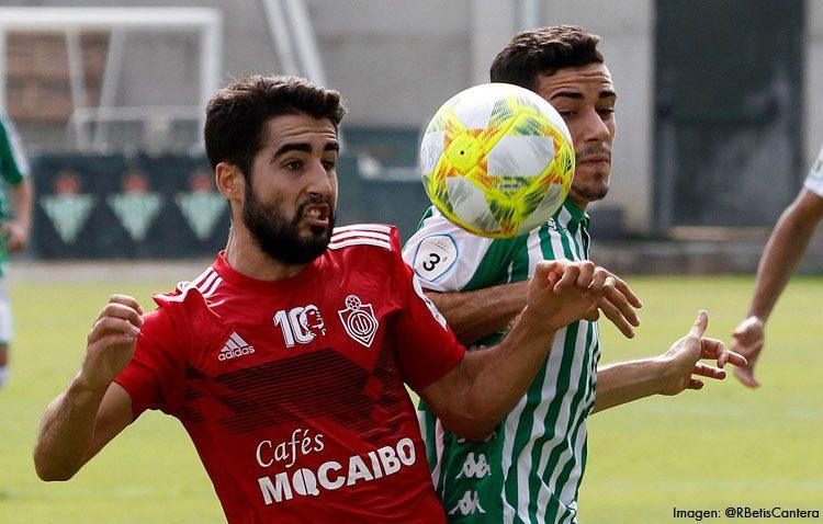 BETIS DEPORTIVO 1-1 C.D. UTRERA: Un golazo de Carreño da el empate al Utrera