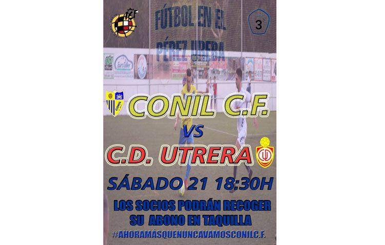 CONIL C.F. – C.D. UTRERA: El Utrera busca cambiar el guión con una victoria en Conil
