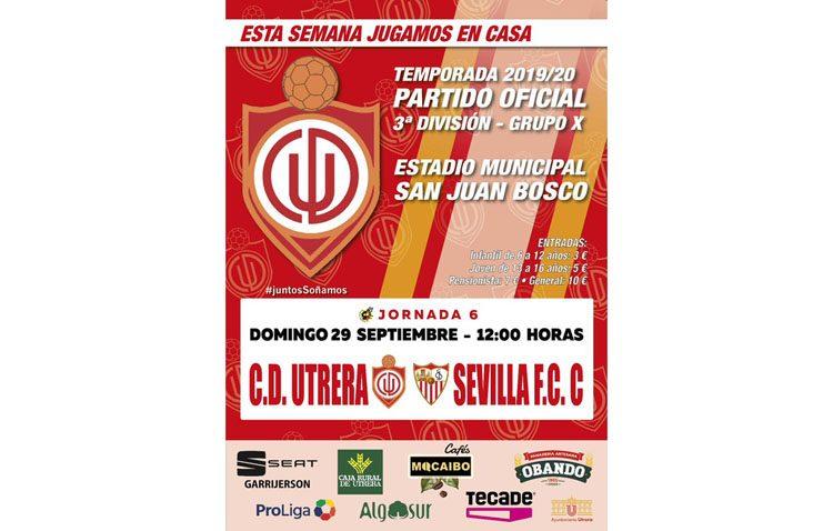 CD UTRERA – SEVILLA C: Mucho en juego
