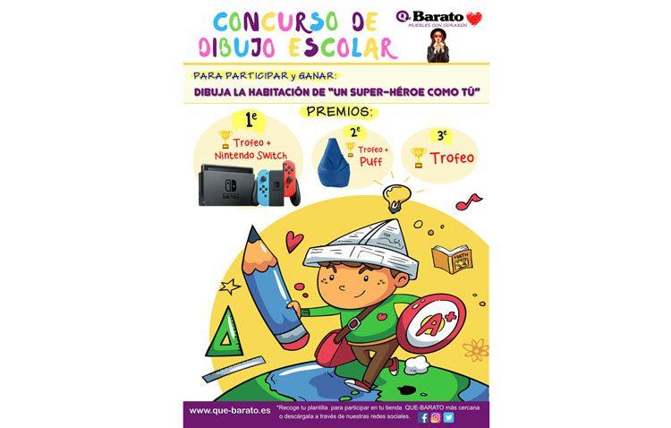 «Qué Barato» organiza un concurso de dibujo para escolares de Primaria