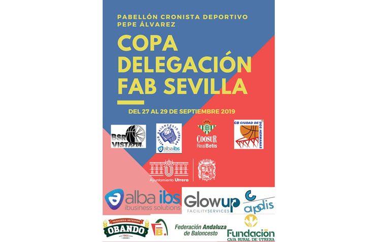 Arranca en Utrera la Copa Delegación de Sevilla de baloncesto