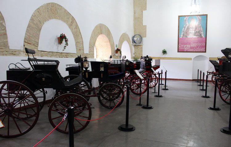 Una muestra para descubrir el valor cultural e histórico de un grupo de carruajes en Utrera