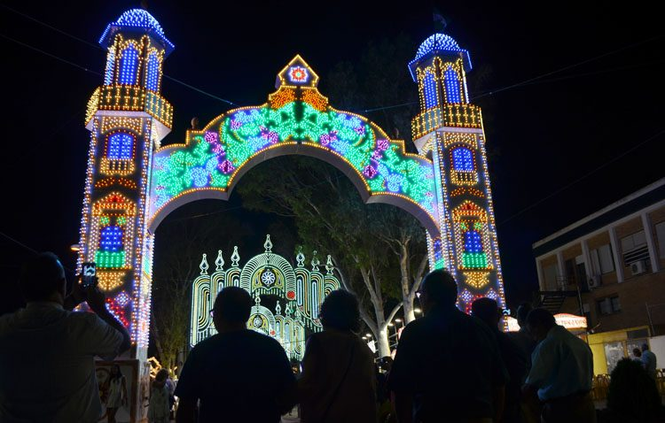 Utrera comienza la Feria de Consolación más tempranera de su historia (IMÁGENES)