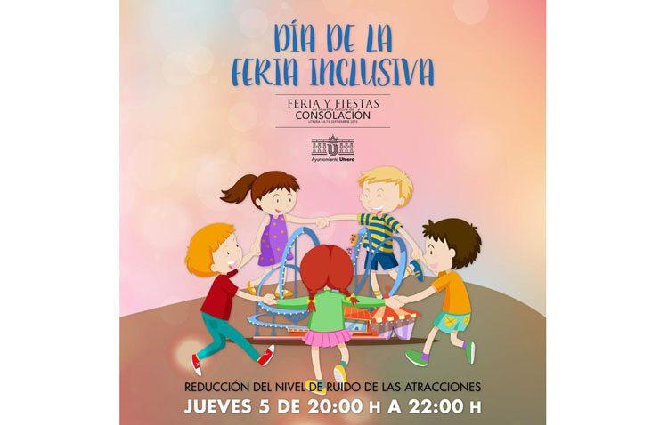Un día de feria inclusiva en Utrera con dos horas sin ruidos