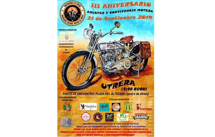 Encuentro motero de Harley Davidson en Utrera