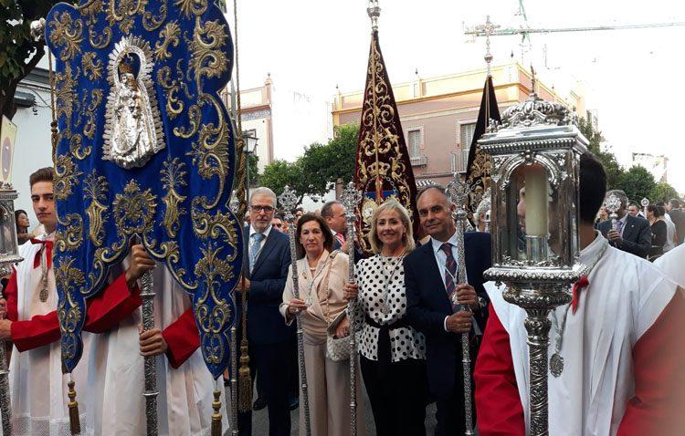 La hermandad de Consolación de Utrera, invitada de honor en la procesión extraordinaria del Cristo de la Sed en Sevilla