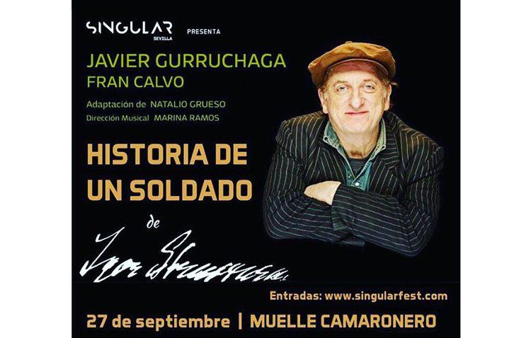 La utrerana Marina Ramos, directora musical del último espectáculo de Javier Gurruchaga