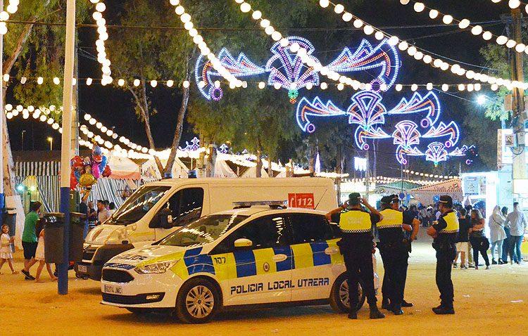 Un dispositivo con casi 300 personas y 35 vehículos para velar por la seguridad en la Feria de Consolación