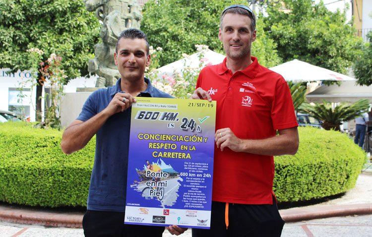 Un recorrido de 600 kilómetros entre Utrera y Alcalá de Guadaíra para llamar la atención sobre la seguridad de los ciclistas