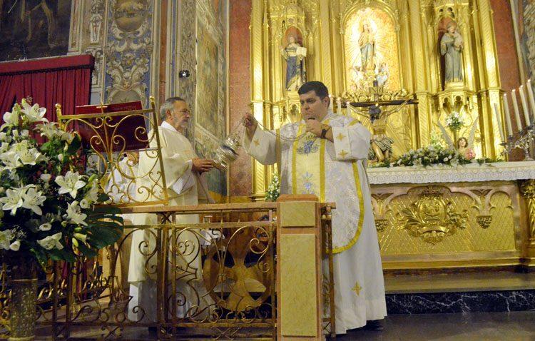 Los Salesianos de Utrera «reestrenan» su iglesia del Carmen