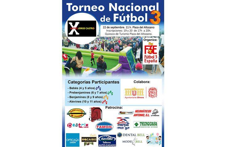 La plaza del Altozano será el escenario de un torneo nacional de fútbol 3