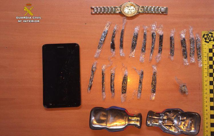 Detenido un joven de Utrera por vender droga en la feria