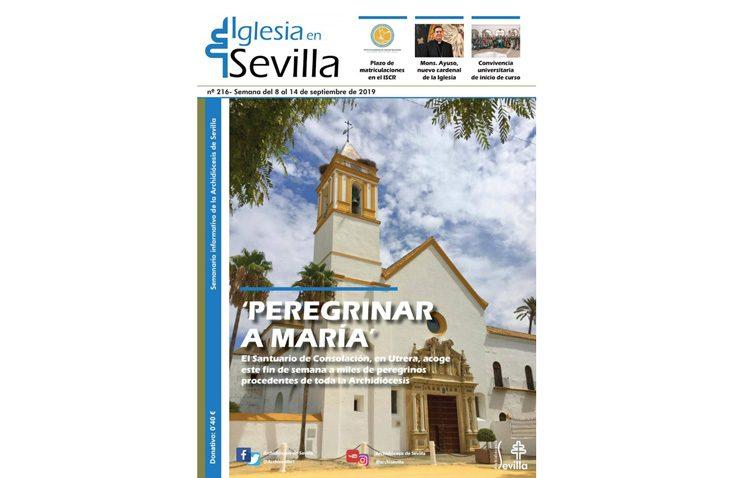 La patrona de Utrera, protagonista de la revista de la Archidiócesis de Sevilla