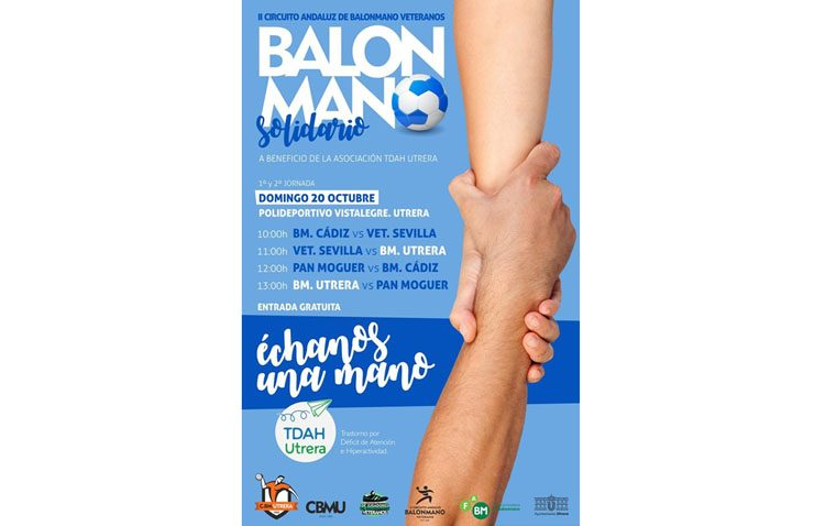 El balonmano más solidario protagoniza la segunda edición del circuito andaluz en Utrera