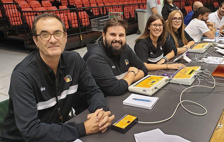 El utrerano Germán Ramos, nuevo oficial de mesa de la ACB