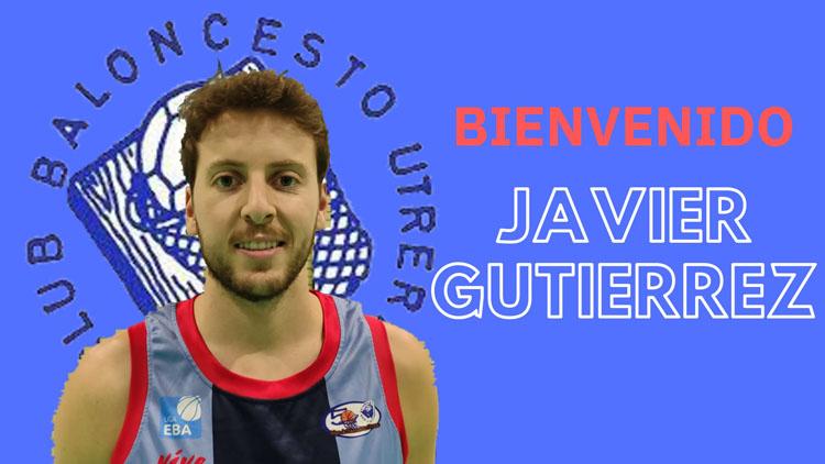 Javier Gutiérrez, nuevo fichaje del Club Baloncesto Utrera