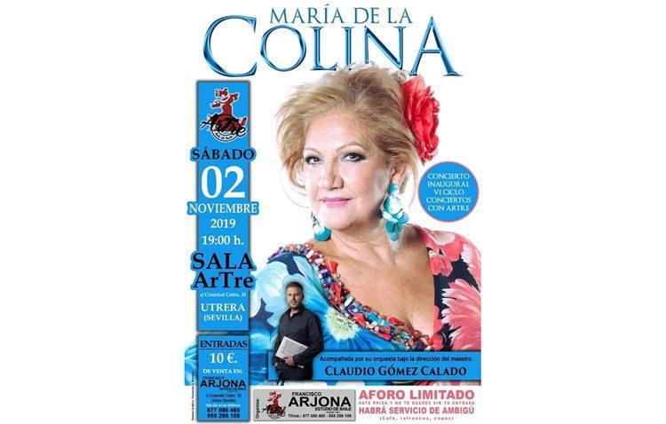 Un recital de María de la Colina para inaugurar el sexto ciclo de «Conciertos con Artre»