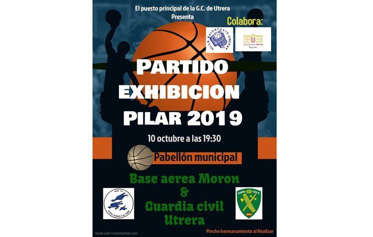Un partido de baloncesto enfrentará a la base de Morón y a la Guardia Civil de Utrera
