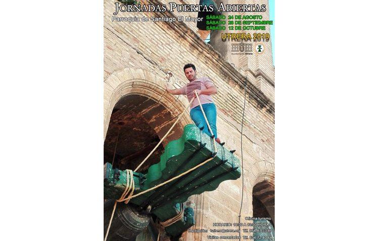 Otra oportunidad para descubrir el campanario de la parroquia de Santiago y la tradición campanera de Utrera