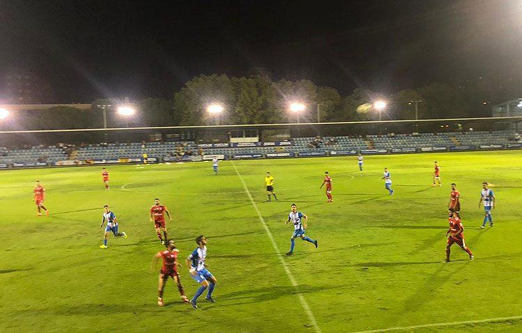 C.F. TALAVERA DE LA REINA 2-0 C.D. UTRERA: El Utrera cae eliminado de la Copa Federación, ofreciendo muy buena imagen