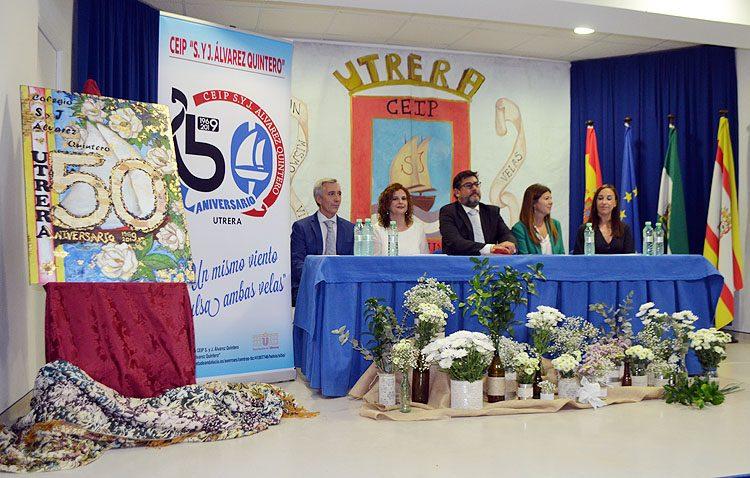 Un amplio programa de actividades para celebrar medio siglo de vida en el colegio Álvarez Quintero