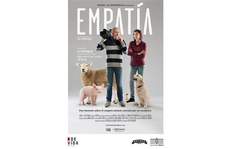 Un documental sobre el respeto animal proyectado por Ddevida