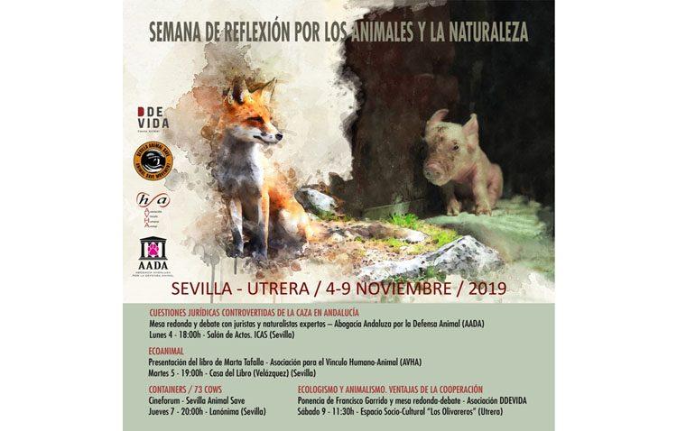 Utrera participa en la «Semana de reflexión por los animales y la naturaleza»