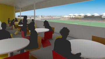 Así será el nuevo estadio municipal «San Juan Bosco»